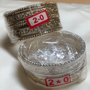 Adorable, metal child's bracelets from India/ Pakistan. NWT.